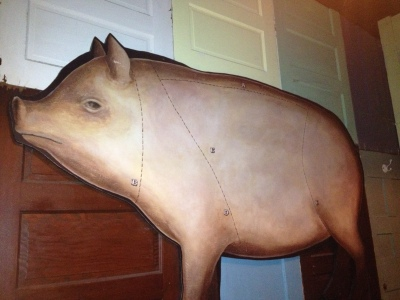 Fat Willy's Wall Pig